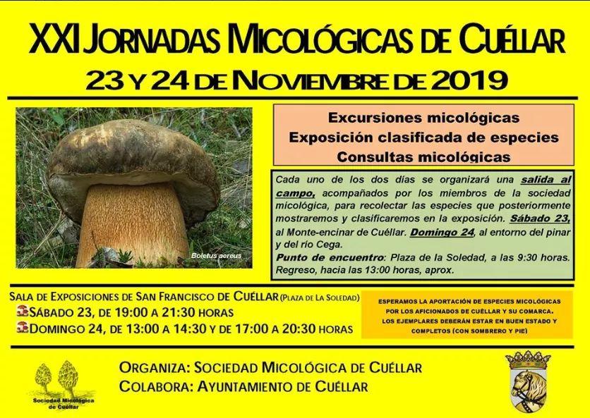 XXI Jornadas Micológicas de Cuéllar