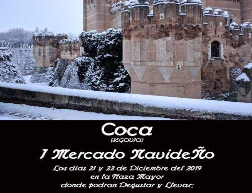 – I Mercado Navideño de Coca. Segovia.