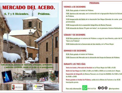 – Mercado del Acebo, Prádena.