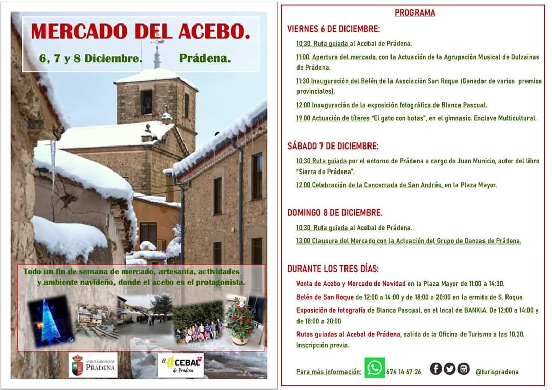 Mercado del Acebo Prádena