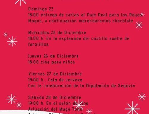 – Navidad 2019/2020, Turégano. Segovia. Programa de actividades.