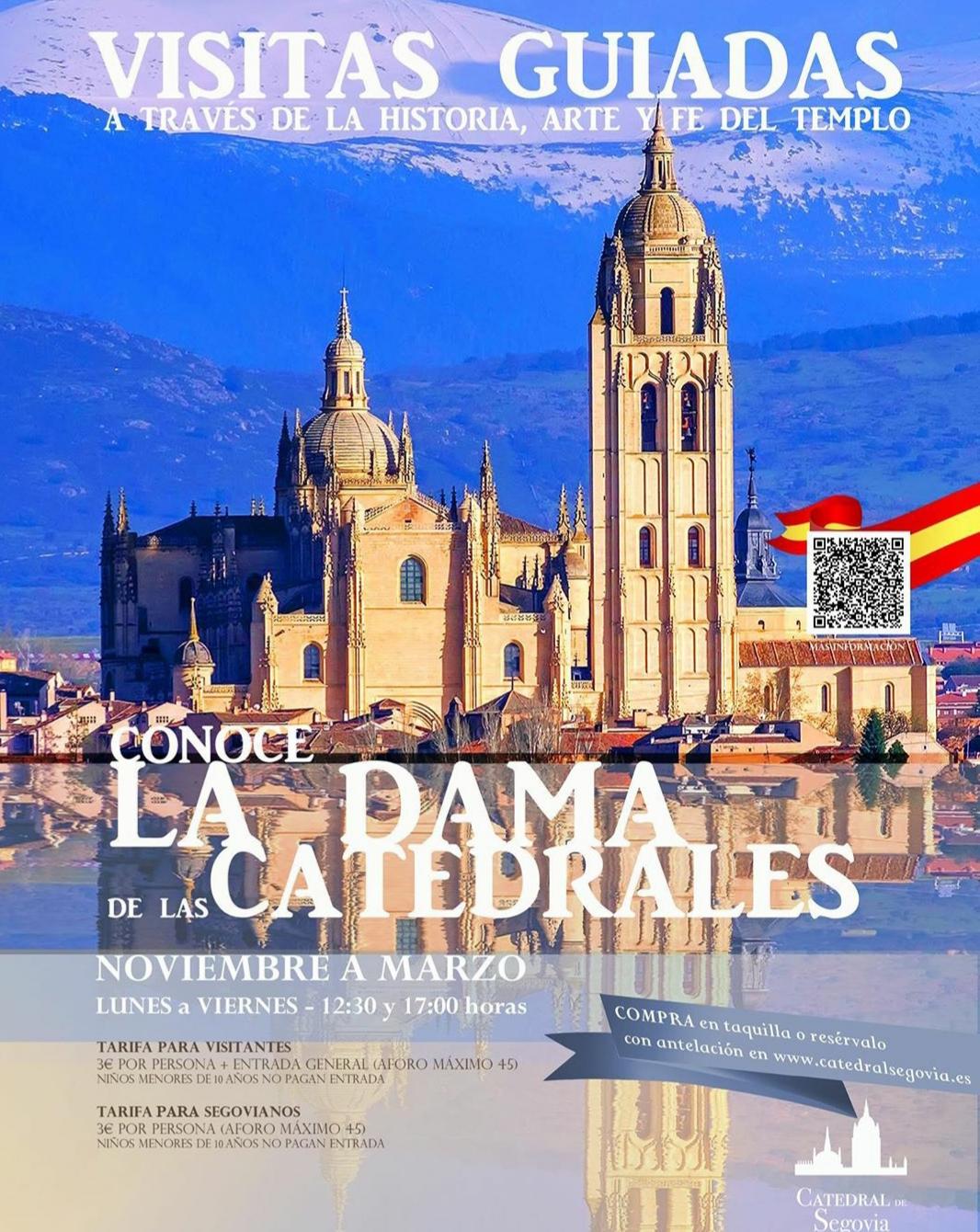 Visitas guiadas Catedral de Segovia