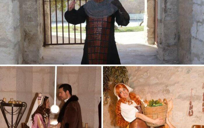 Visitas teatralizadas Castillo de Cuéllar