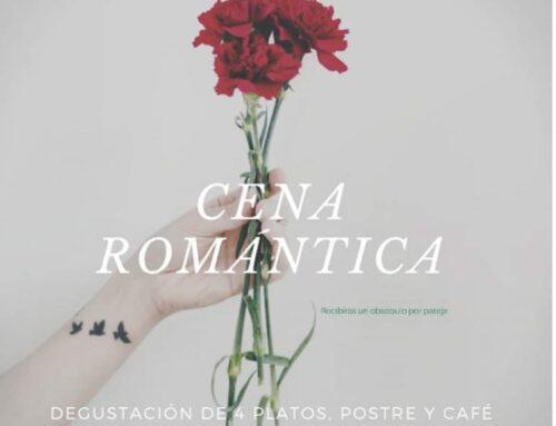 – Cena romántica. San Valentín 2020.