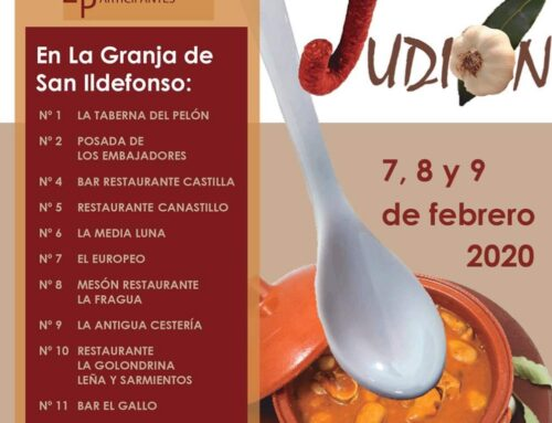 – IX concurso de tapas de Judión. La Granja. Segovia.