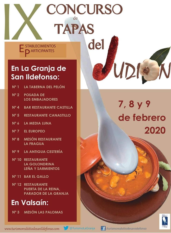 IX concurso de tapas de Judión de la Granja