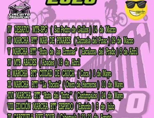 – VII Edición del Circuito BTT Segoviano 2020.