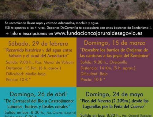 – Rutas guiadas por la naturaleza. Segovia.