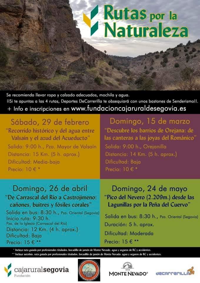 Rutas guiadas por la naturaleza Segovia
