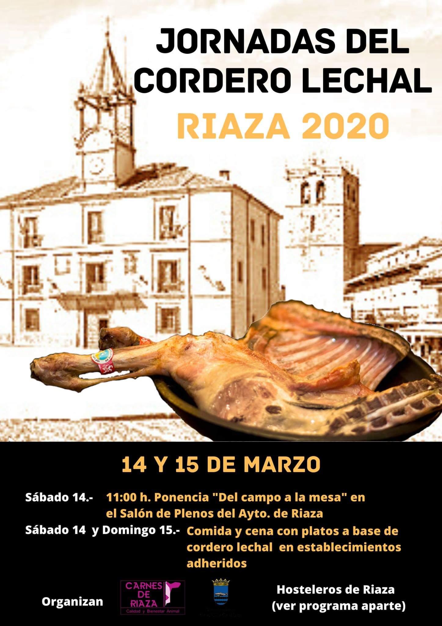 I Jornadas del Cordero Lechal. Riaza