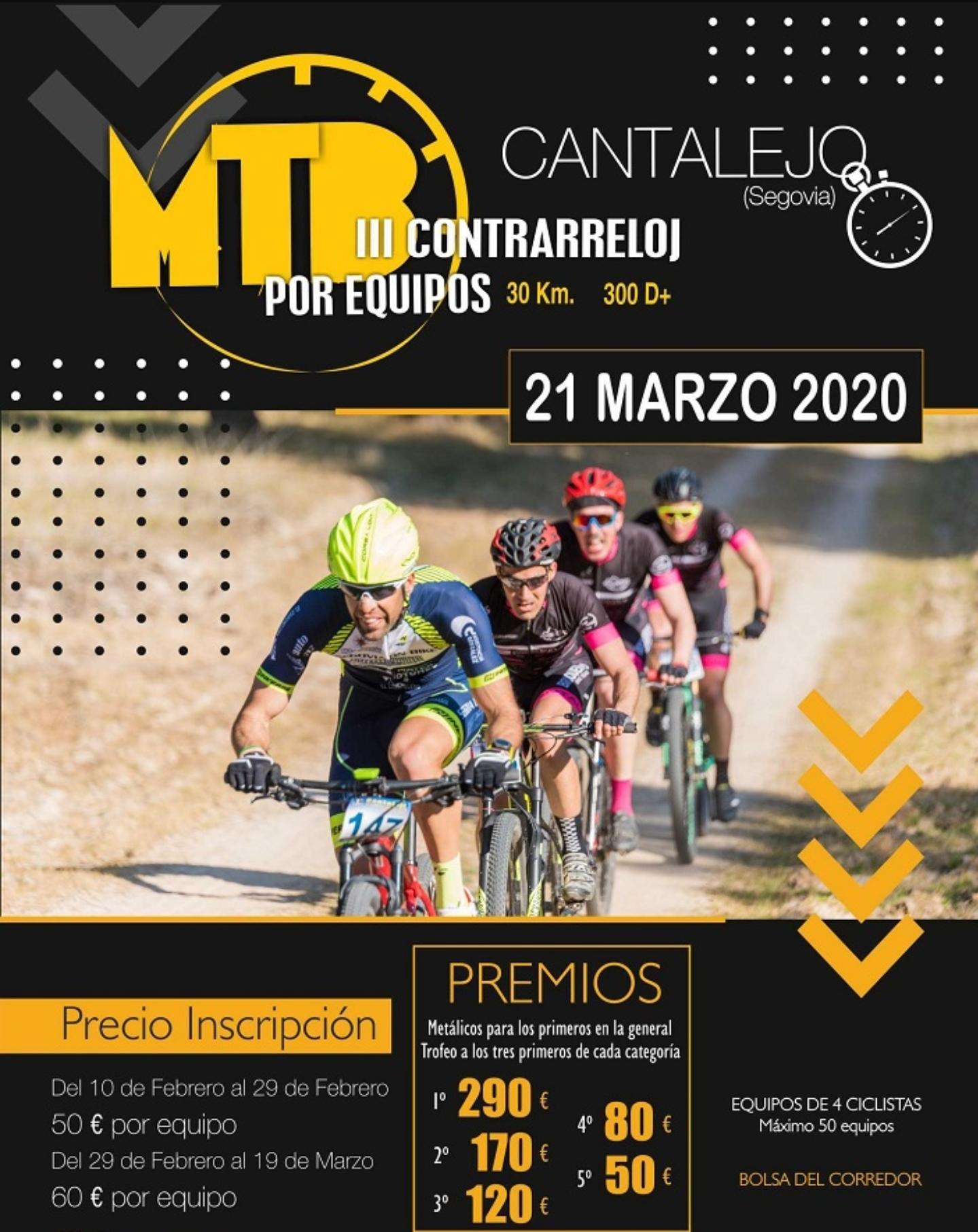 III MTB por equipos. Cantalejo. Segovia