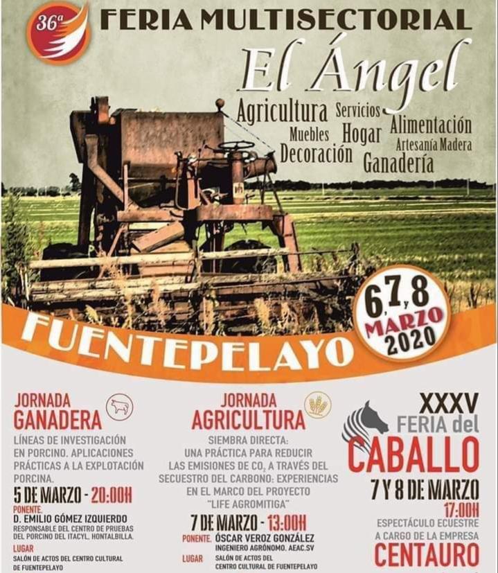 Xxxiv Edición De La Feria El ángel En Fuentepelayo Segovia Casas Rurales La Fuente