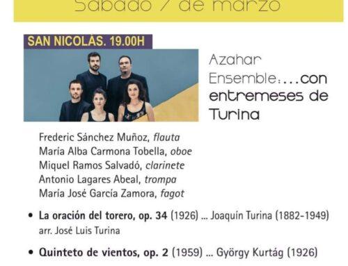 – XXVII Jornadas de Música Contenporanea de Segovia.