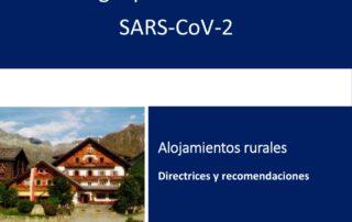 Protocolo de actuación frente al COVID-19. Casas Rurales La Fuente