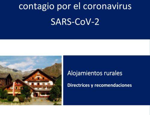 – Protocolo de actuación frente al COVID-19. Casas Rurales La Fuente.
