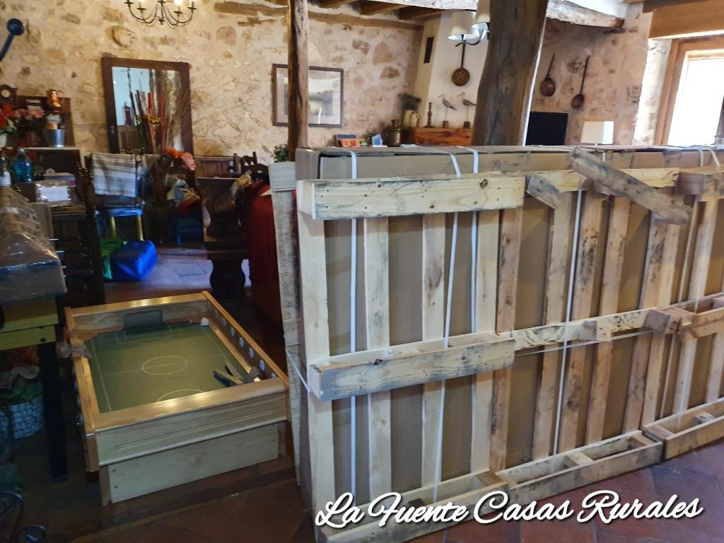 Sala de juegos multiusos. Casa rural La Fuente del Poval