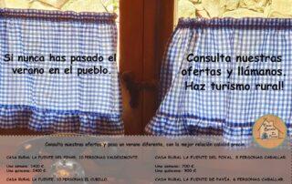 Ofertas verano 2020 Casas rurales Segovia