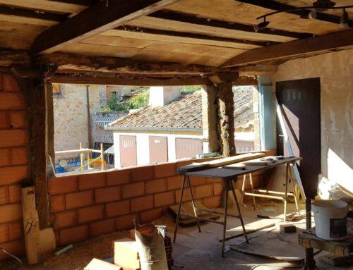 – Sala multiusos. Casa rural La Fuente del Poval. Caballar. Segovia.