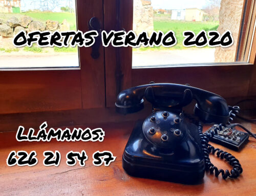 – Ofertas de verano de 2020. Casas rurales La Fuente. Segovia.