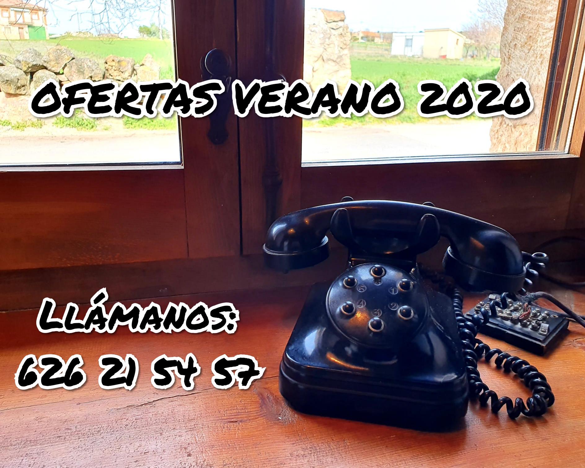 Ofertas de verano 2020. Casas rurales La Fuente. Segovia