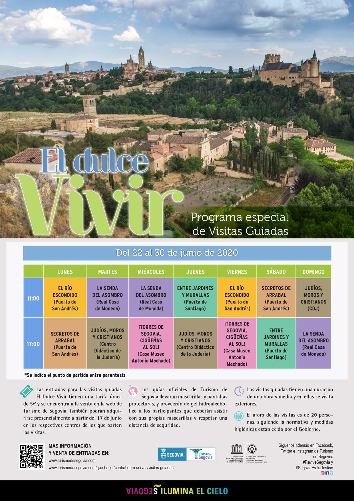 Actividades en Segovia
