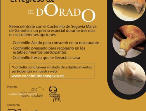 – Regresa El Dorado a Segovia.