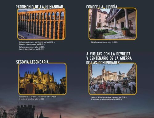 – Visitas guiadas «Conoce Segovia».