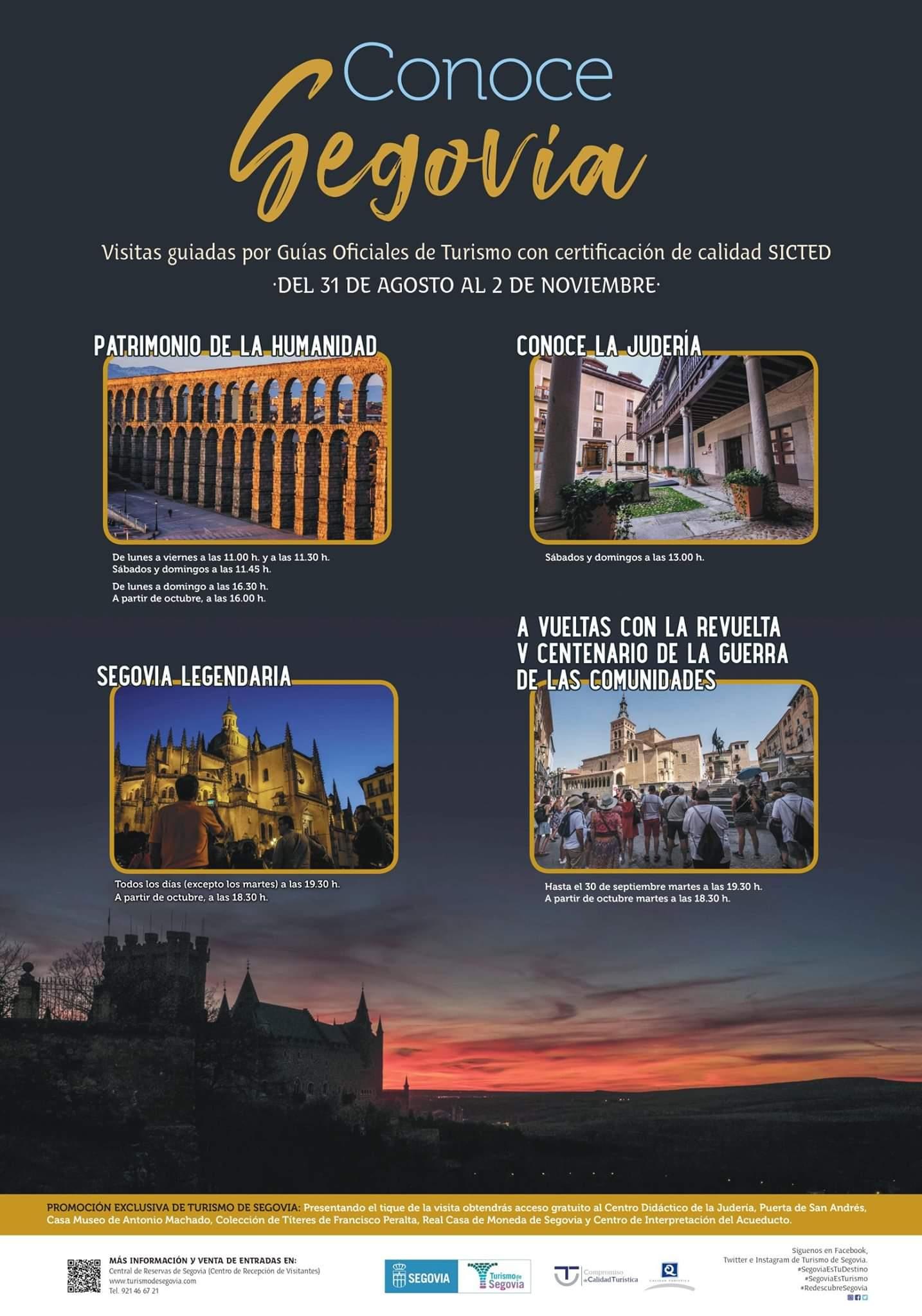 Visitas guiadas Conoce Segovia