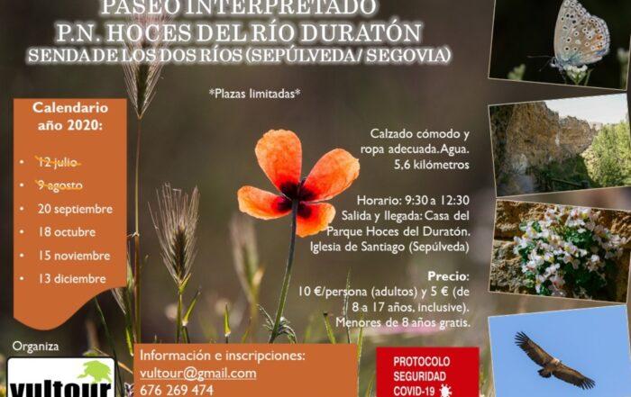 Paseo interpretativo por el Parque Natural Hoces del Río Duratón