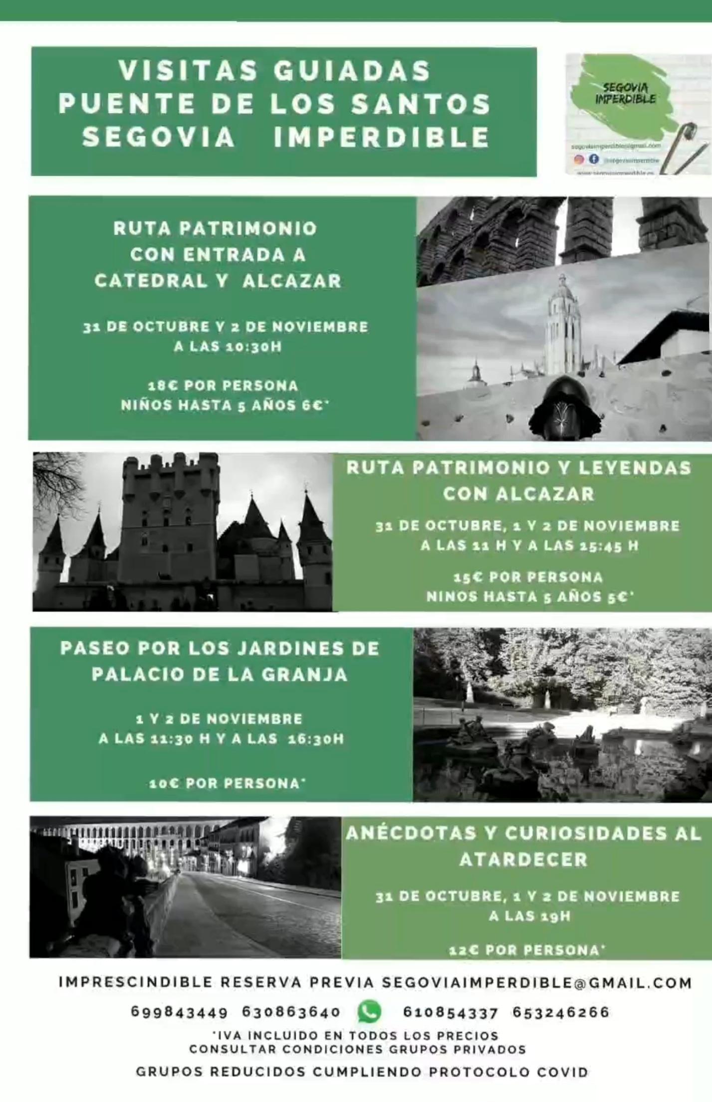 Puente de los Santos. Halloween 2020