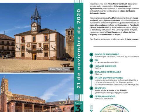 – Visitas Guiadas por la Provincia de Segovia.