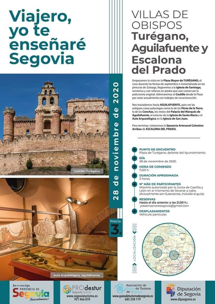 Visitas guiadas por la provincia de Segovia