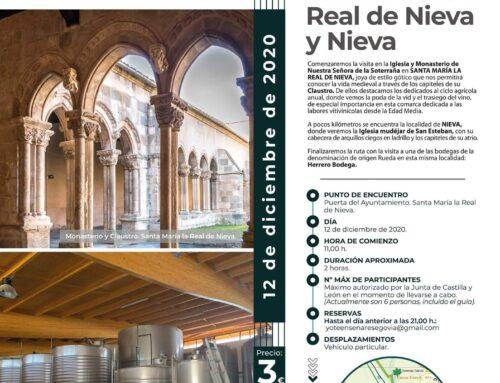 – Visitas guiadas en la provincia de Segovia.