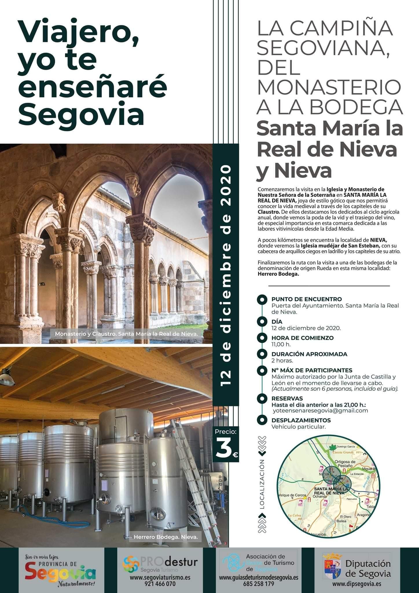 Visitas guiadas en la provincia de Segovia