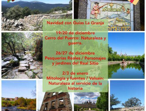 – Navidad 2020. Visitas Guiadas en La Granja.
