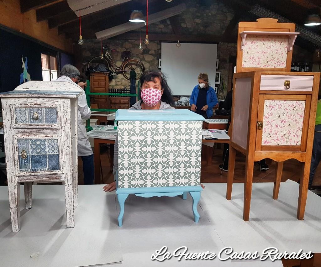 Restauración de muebles. Casas rurales La Fuente.