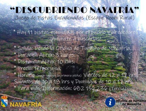 -Turismo en Navafría. Segovia.