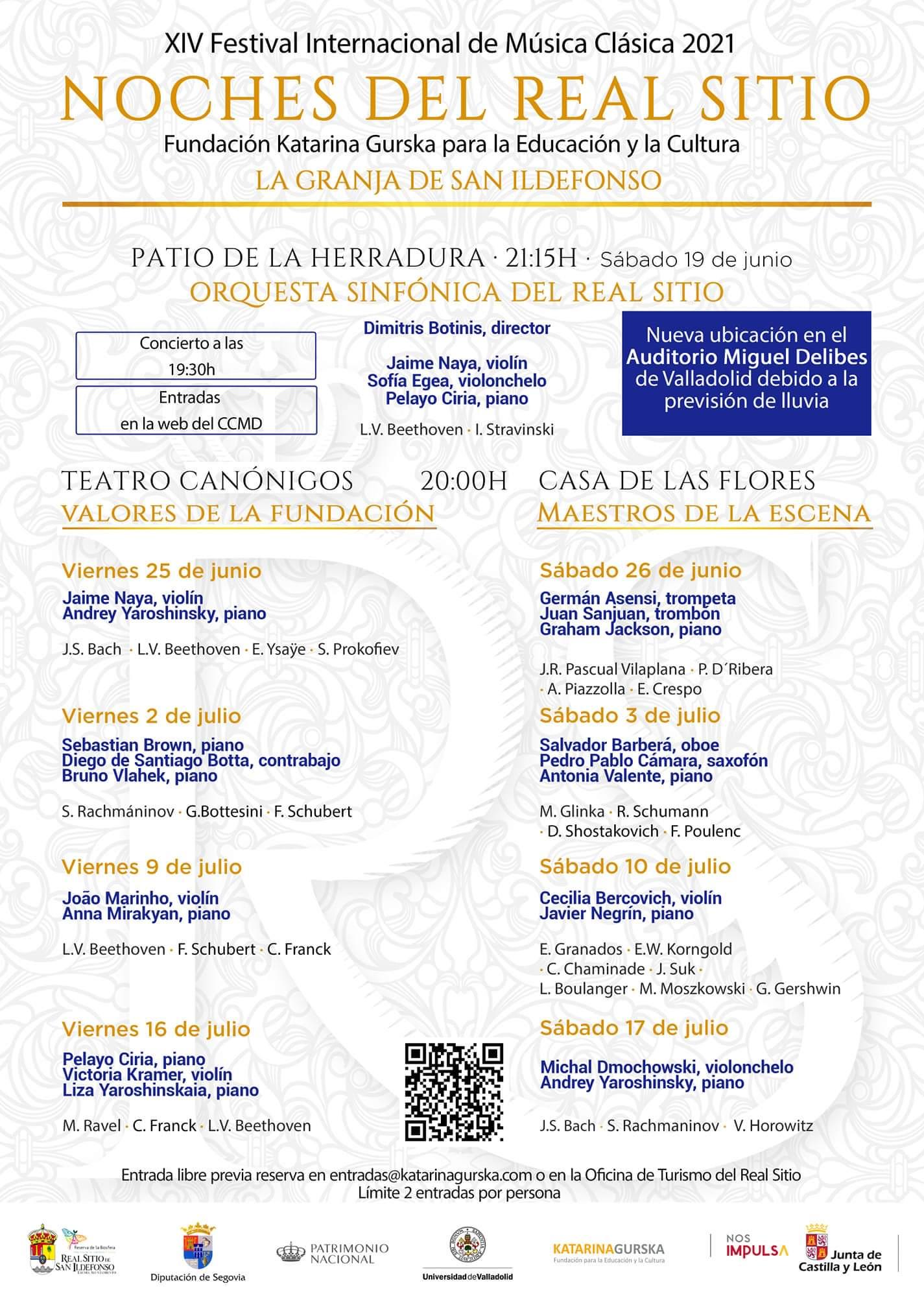 Festival Noches Mágicas de la Granja 2021