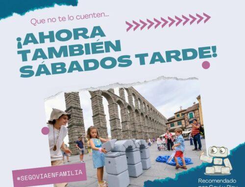 – Actividades con niños en Segovia.