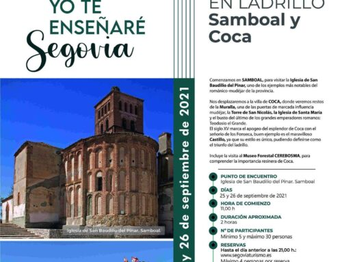 – Visita Guiada a Samboal y Coca.