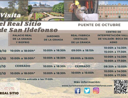 – Actividades Puente de Octubre.